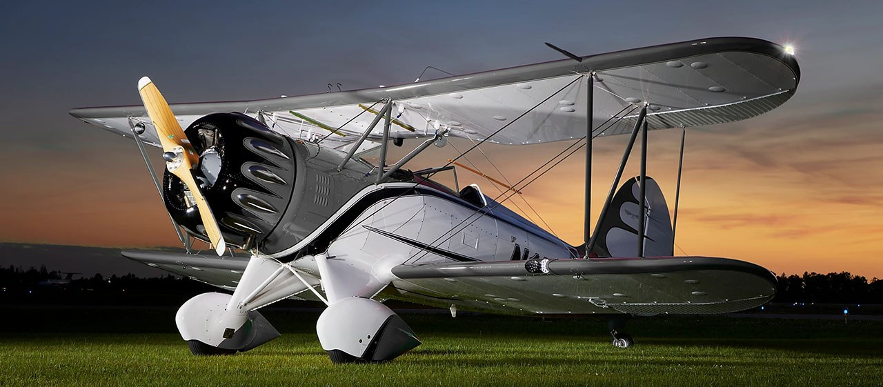 1. Waco YMF-5
