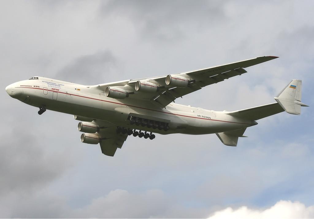 11. Antonov AN-225 Mriya