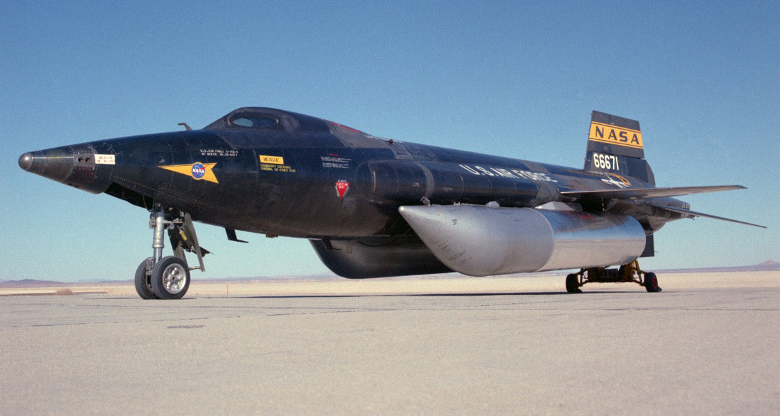 6. North American X-15