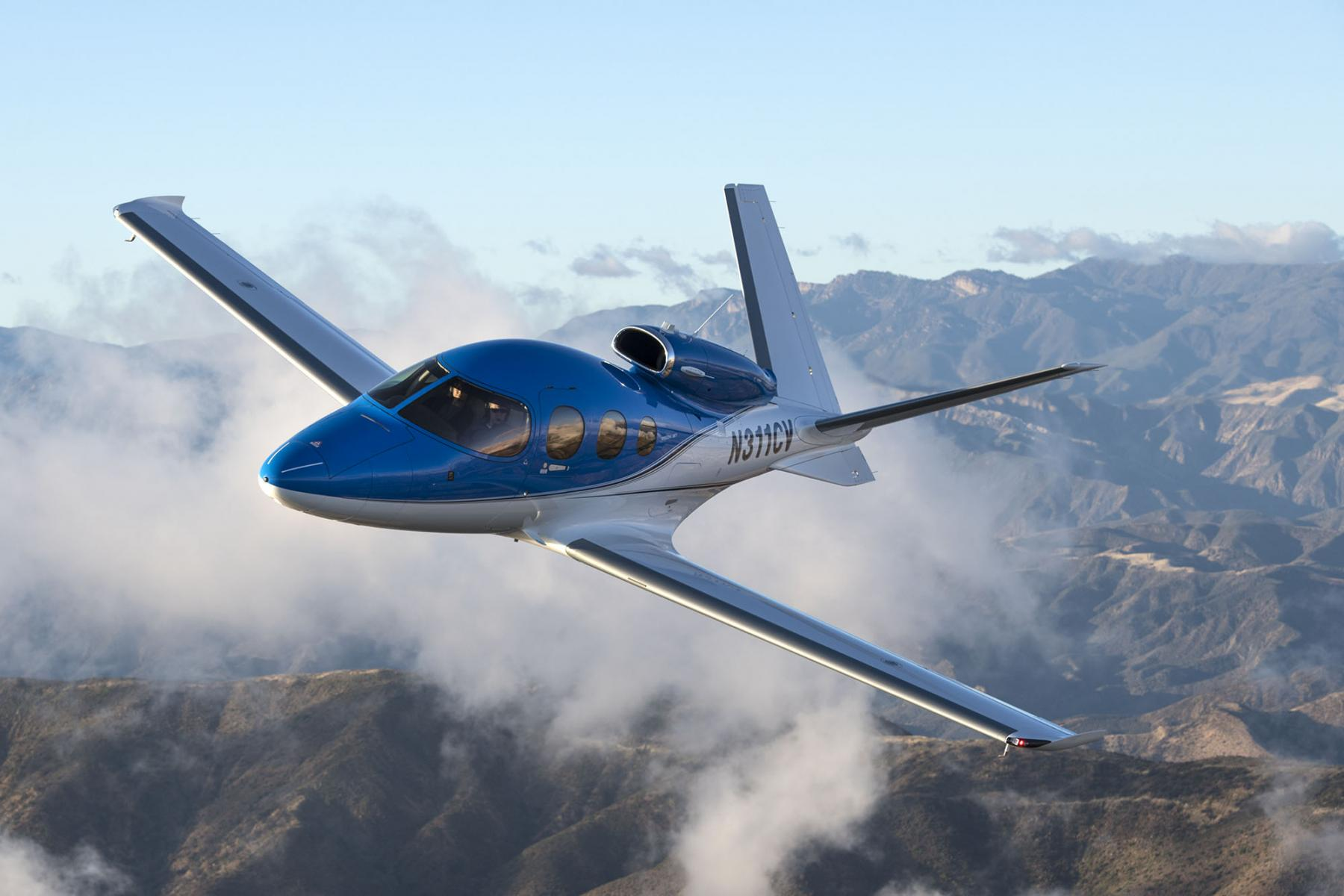 Cirrus SF-50 Vision Jet