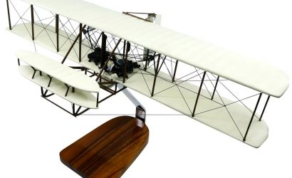 Wright Flyer Mahogany Model